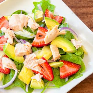 Spinach, Strawberry and Avocado SaladRecipe