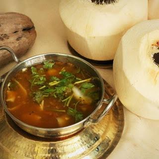 Elaneer Rasam Recipe (Tender Coconut Rasam).