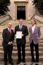 Photo: Wolfgang Horvath, Matthias Weber, Pfarrer Dr. Johannes Pratl (Foto: Michael Loibl)