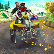 Offroad ATV Taxi Bike Riding Game