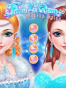 Frozen Ice Queen Makeup Salon- screenshot thumbnail