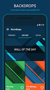 Backdrops - Wallpapers Screenshot 1