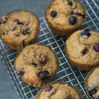Gluten Free Cashew Meal Blueberry Muffins