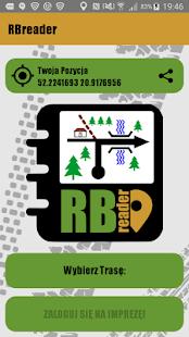 RB Reader - náhled