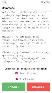 Comatose — Android Deep Sleep 2