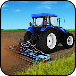 Tractor Driver Agri Farm Icon
