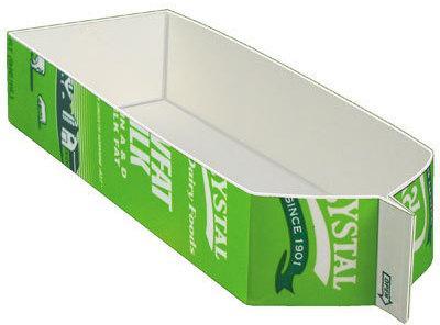 Or a quart milk carton- cut like this. Set aside.