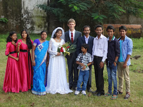 Photo: Suzane's family from Phulbani, India.