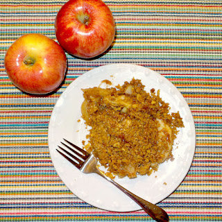 Easy Apple Crisp with Honey Bunches of Oats