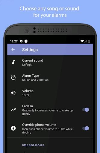 Simple Alarm Clock Free screenshot 4
