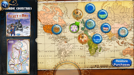 Ticket to Ride- screenshot thumbnail