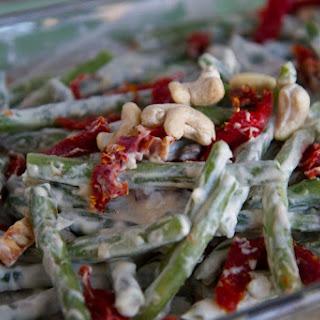 Raw Vegan Green Bean Casserole
