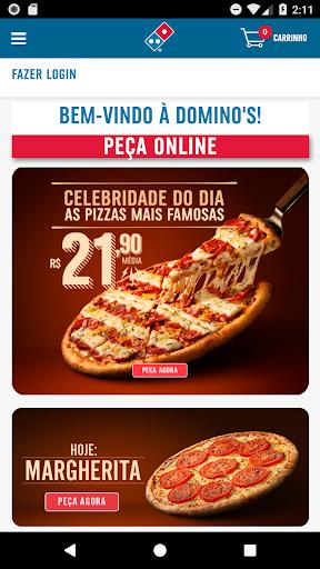 Domino's Pizza Brasil screenshot 1