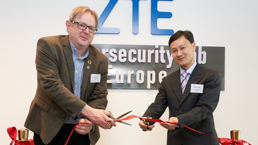 ZTE launches its Cybersecurity Lab Europe in Brussels.