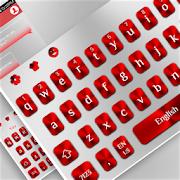 White Red Keyboard