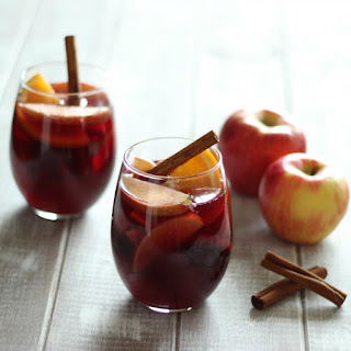 Honeycrisp Apple Cider Sangria.
