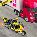 Bike rider highway racer 3d- New bike racing Games icon