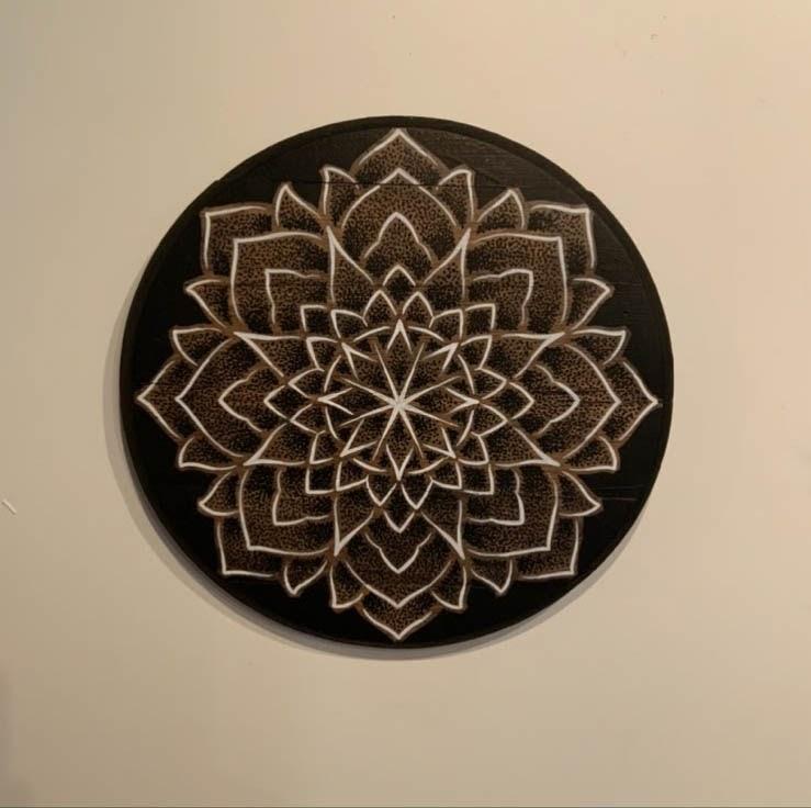 Karl Otto: Marker and Wood Mandala