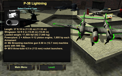 Ace Dogfighter WW2 - screenshot
