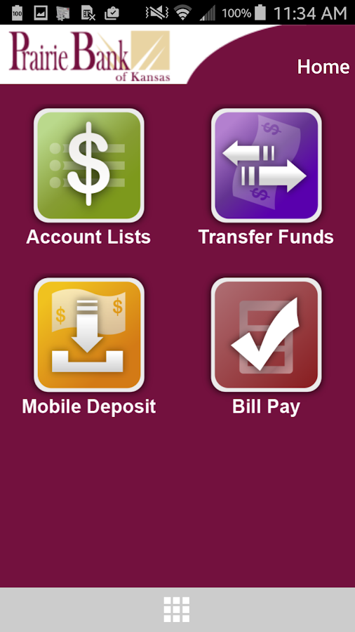 Prairie Bank Mobile Banking - screenshot
