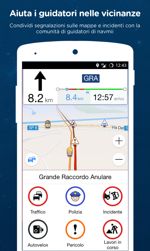 Navmii GPS Mondo (Navfree)- screenshot
