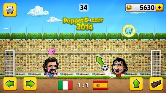 ⚽Puppet Soccer 2014 – Big Head Football 🏆 App Download For Android 3