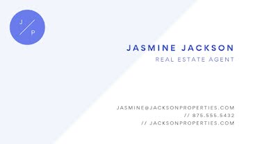 Jackson Real Estate Front - Business Card Template