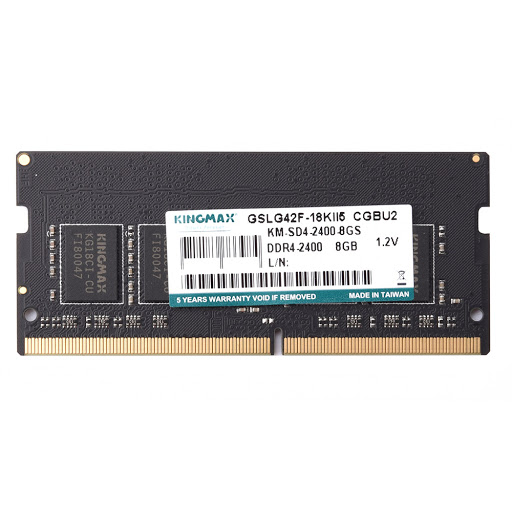 Bộ nhớ laptop DDR4 Kingmax 8GB (2400)