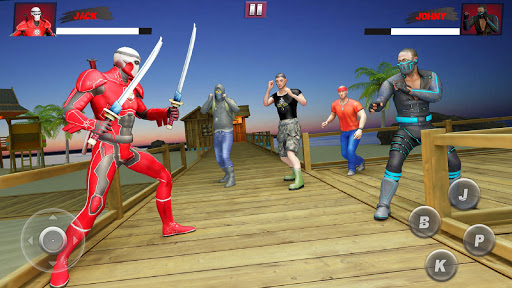 Ninja Superhero Fighting Games: City Kung Fu Fight 5.9 screenshots 2