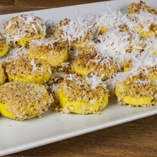 Spicy Baked Yellow Squash.