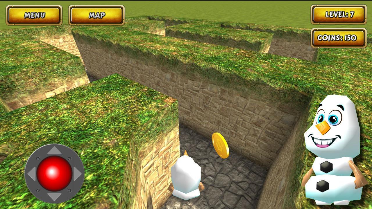 Maze Cartoon labyrinth 3D HD screenshots