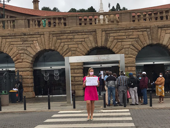 'Restaurants can't survive another week': CEO stages sit-in at Union Buildings - SowetanLIVE