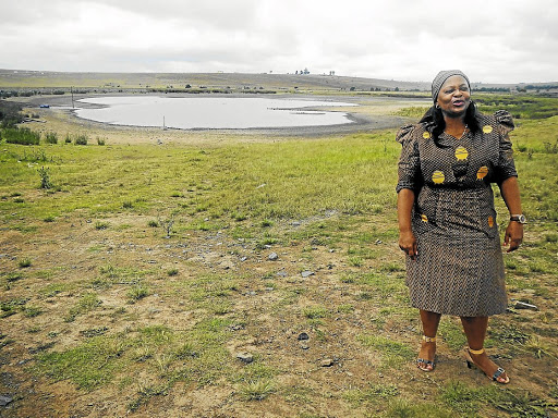 Controlling: Water and Sanitation Minister Nomvula Mokonyane, seen in this file photograph, says that she does not want large, established companies to land contracts and that she will decide which projects to build and who will build them. Picture: SIKHO NTSHOBANE