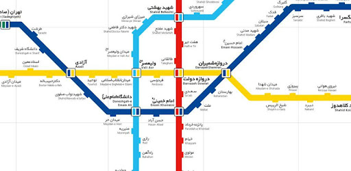 Tehran Subway Map.Tehran Metro Map On Windows Pc Download Free 1 Com Appster