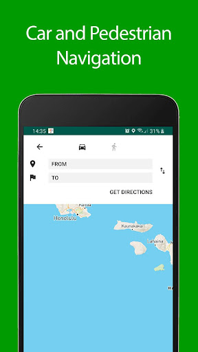 Download Hawaii Offline Map and Travel Guide 1.35 2