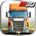 Truck Driver Highway Race 3D Icon
