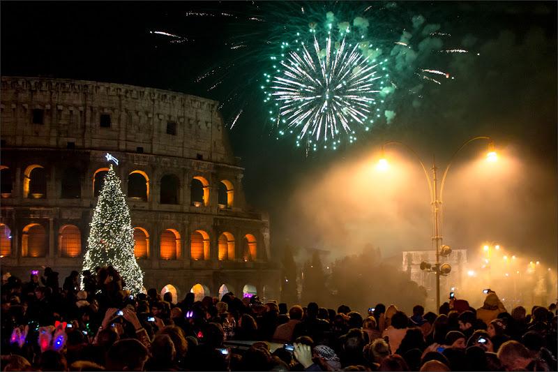 Capodanno al Colosseo di alberto raffaeli