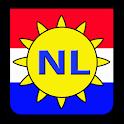 Het weer in Nederland icon