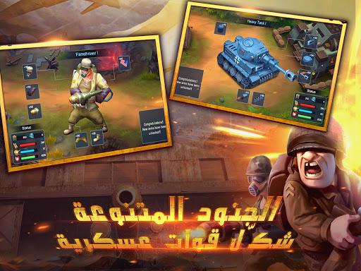War in Pocket: u062cu0646u0631u0627u0644 apkpoly screenshots 15