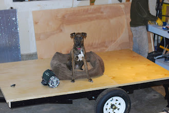 Photo: Insulated trailer base (seal bottom with Henry's asphalt sealer)