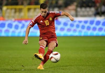 """Hazard: """"J'ai joué à la Eden Hazard"""""""