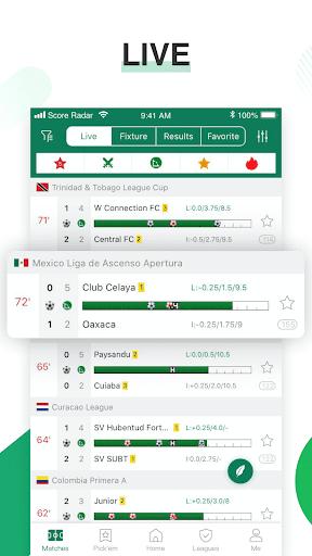 Score Radar: Soccer prediction, tips, scores 1.2.4 screenshots 2