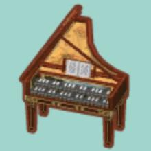 ポケ 森 グランド ピアノ