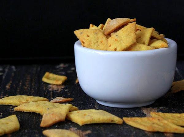 Savory Potato And Rice Crackers Recipe