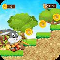 Super rabbit Looney bugs bunny icon