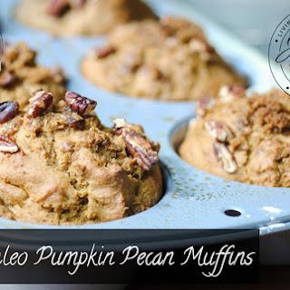 Paleo Pumpkin Pecan Muffins