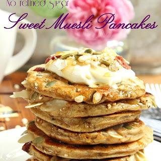 Sweet Muesli Pancakes