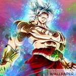 Broly ultra instinct live wallpaper