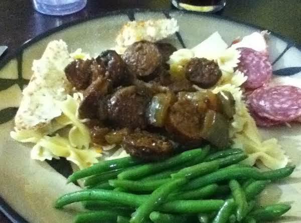 Sausage Cacciatore Recipe