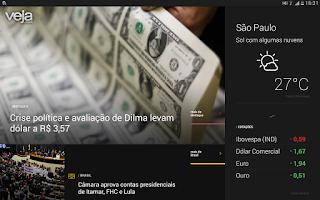 Screenshot of VEJA.com Notícias